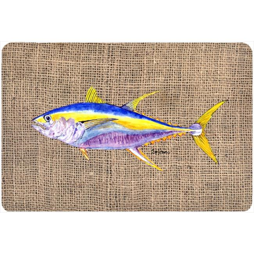 Carolines Treasures 8771MP 9.25 x 7.75 in. Fish - Tuna Mouse Pad Hot Pad Or Trivet