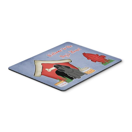 Carolines Treasures BB2846MP Dog House Collection Cocker Spaniel Black Mouse Pad Hot Pad or Trivet