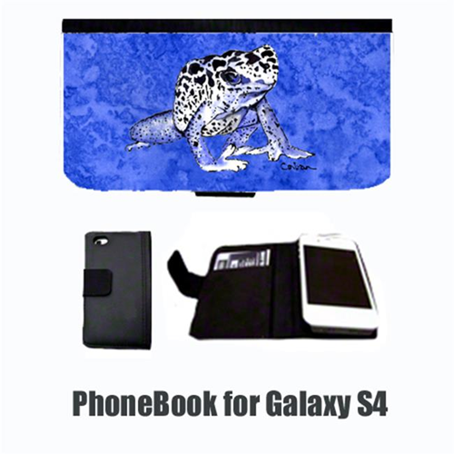 Carolines Treasures 8687-NBGALAXYS4 Frog Cell Phonebook Cell Phone case Cover for GALAXY 4S