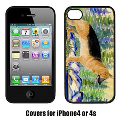 Carolines Treasures SS8129IP4 German Shepherd Iphone 4 Cover