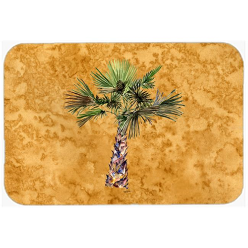 Carolines Treasures 8706MP Palm Tree On Gold Mouse Pad Hot Pad & Trivet