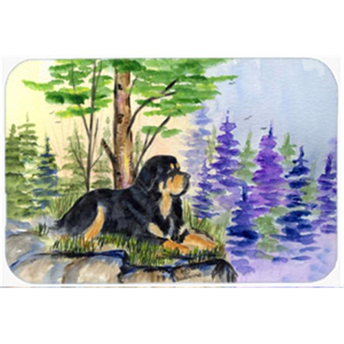 Carolines Treasures SS8007MP 8 x 9.5 in. Tibetan Mastiff Mouse Pad Hot Pad or Trivet