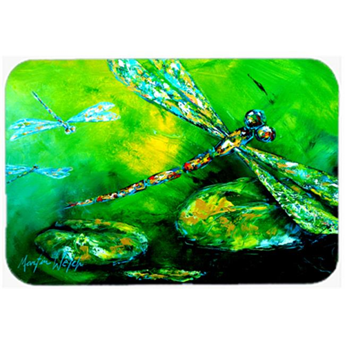 Carolines Treasures MW1114MP Dragonfly Summer Flies Mouse Pad Hot Pad or Trivet
