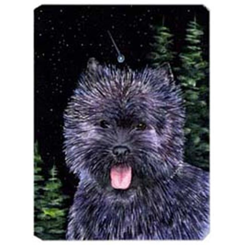 Carolines Treasures SS8494MP Starry Night Cairn Terrier Mouse Pad