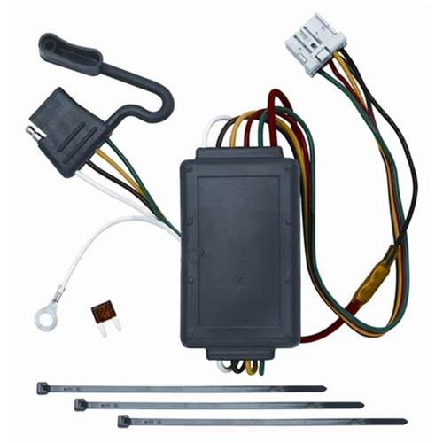 Tow Ready 118438 T-One Connector Assembly With Circuit Protected Modulite Module 3.98 x 2.88 x 8.88 in.