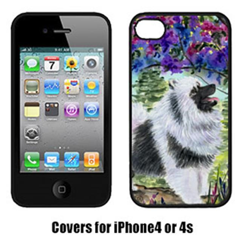Carolines Treasures SS8063IP4 Keeshond Iphone 4 Cover