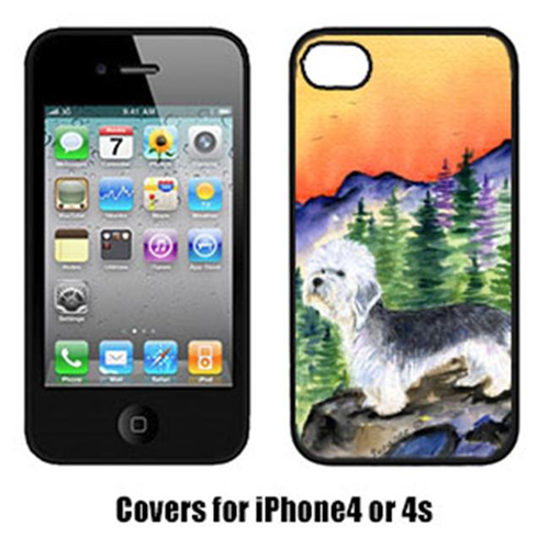 Carolines Treasures SS8222IP4 Dandie Dinmont Terrier Cell Phone cover IPhone 4