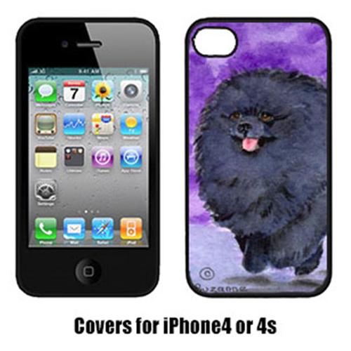 Carolines Treasures SS8686IP4 Pomeranian Iphone4 Cover