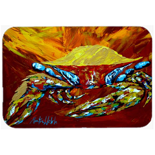 Carolines Treasures MW1113MP Crab Buster Brown Mouse Pad Hot Pad or Trivet