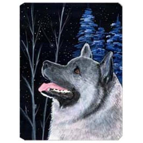 Carolines Treasures SS8398MP Starry Night Norwegian Elkhound Mouse Pad