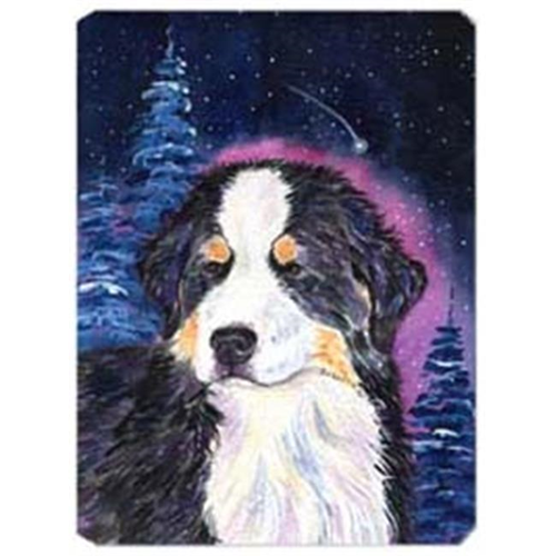 Carolines Treasures SS8446MP Starry Night Bernese Mountain Dog Mouse Pad