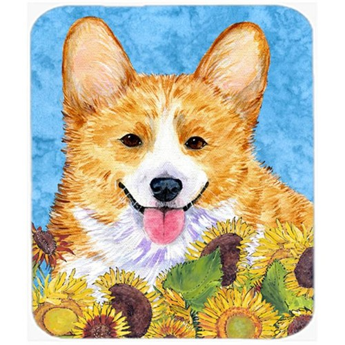 Carolines Treasures SS4119MP Corgi Mouse Pad Hot Pad or Trivet