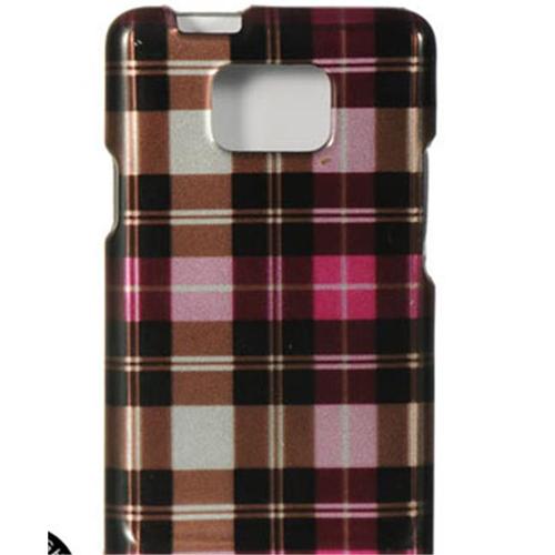 DreamWireless CASAMI777HPCK Samsung Attain & I777 Crystal Case Hot Pink Checker