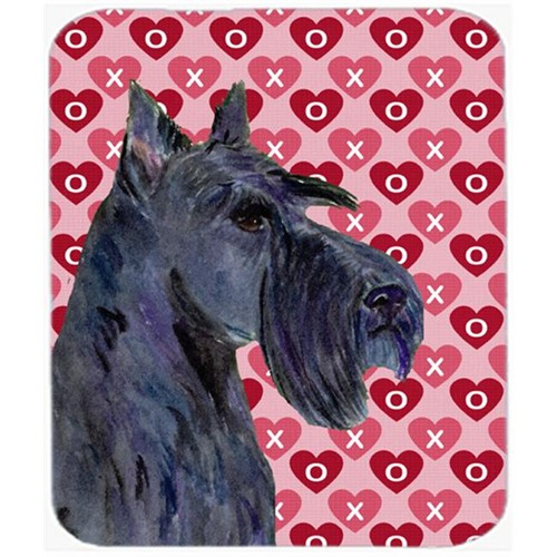 Carolines Treasures SS4529MP Scottish Terrier Hearts Love And Valentines Day Mouse Pad Hot Pad Or Trivet