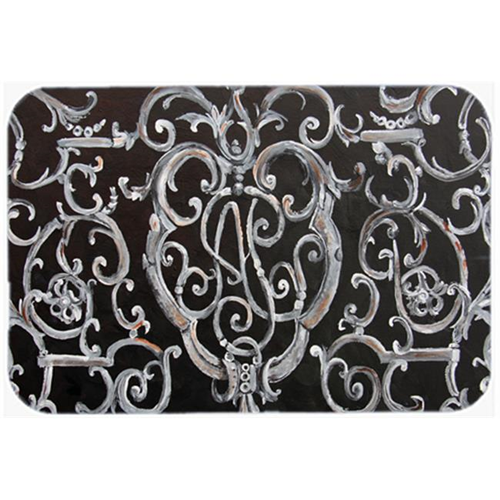 Carolines Treasures 8927MP Ironwork Fence Mouse Pad Hot Pad & Trivet
