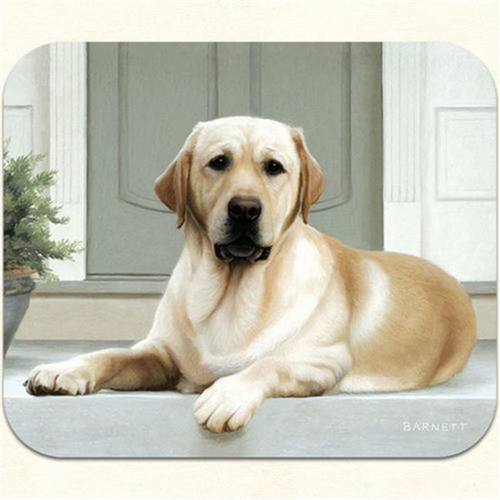 Fiddlers Elbow m22 Yellow Lab-Porch Mouse Pad Pack Of 2
