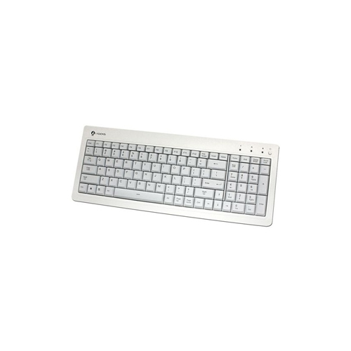 Irocks White Gaming Keyboard Blue Led Backlight USB - KR6820EWH