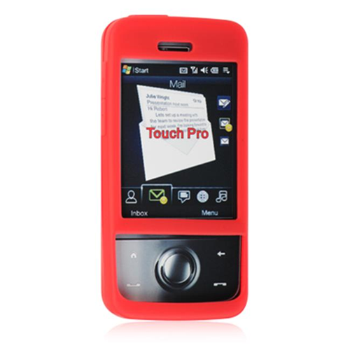 DreamWireless SCHTCPRORD-PR HTC Touch Diamond Pro Skin Case - Red