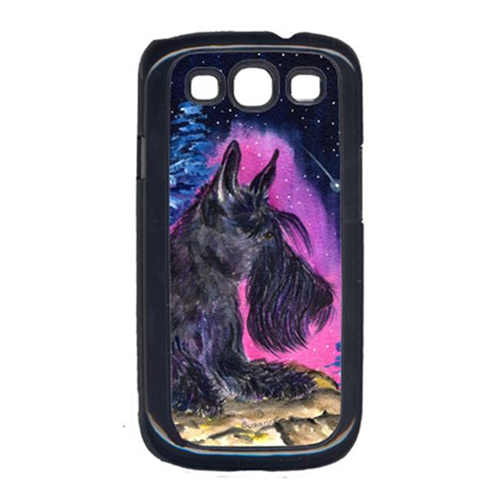 Carolines Treasures SS8442GALAXYSIII Starry Night Scottish Terrier Cell Phone Cover Galaxy S111
