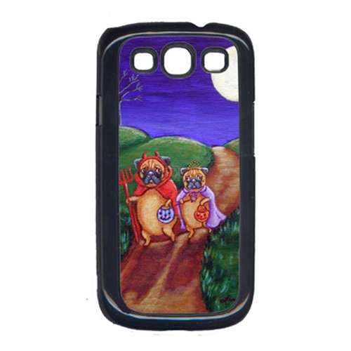 Carolines Treasures 7281GALAXYSIII Trick Or Treat Halloween Pug Cell Phone Cover Galaxy S111