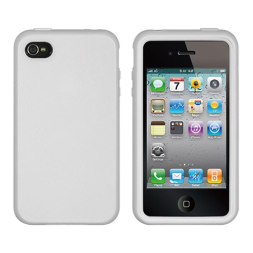 Dreamwireless Skin Case for iPhone 4S; iPhone 4 - White