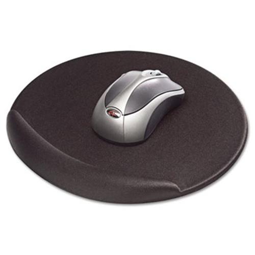 Kelly Computers 50155 Viscoflex Memory Foam Oval Mouse Pad Black