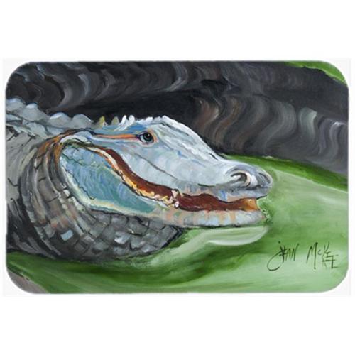 Carolines Treasures JMK1003MP Blue Alligator Mouse Pad Hot Pad & Trivet