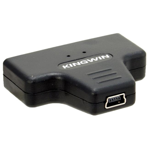 Kingwin ADP-07 1 7/8W x 1 3/5L x 1/2 H Kingwin USB 2.0 to SATA Adapter for All 2.5 SATA Hard Drives