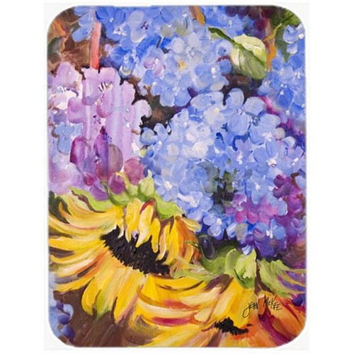 Carolines Treasures JMK1175MP Hydrangeas And Sunflowers Mouse Pad Hot Pad & Trivet