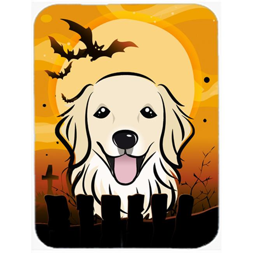 Carolines Treasures BB1763MP Halloween Golden Retriever Mouse Pad Hot Pad & Trivet