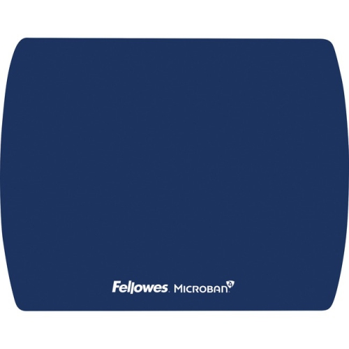 Fellowes 5908001 Anti Bacteria Ultra Thin Mouse Pad- Sapphire Blue
