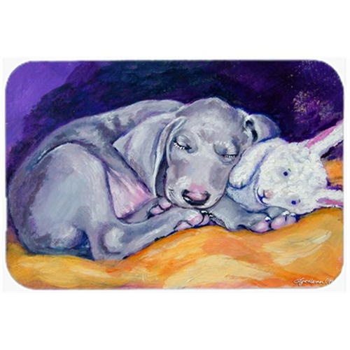 Carolines Treasures 7354MP Weimaraner Snuggle Bunny Mouse Pad Hot Pad & Trivet