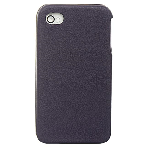 DreamWireless IP-CALIP4VPP iPhone 4S & iPhone 4 Compatible Crystal Leather Vertical Case - Purple