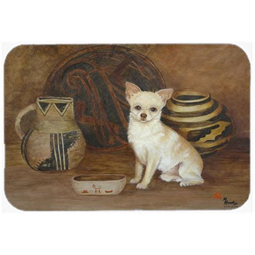 Carolines Treasures MH1043MP Chihuahua Ancient History Mouse Pad Hot Pad & Trivet