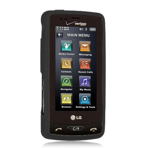 DreamWireless SCLG9600BK-PR LG Versa & VX-9600 Premium Skin Case - Black