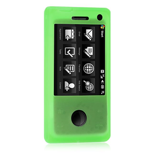 DreamWireless SCHTCFUGR HTC Fuze & Touch Pro Skin Case - Green