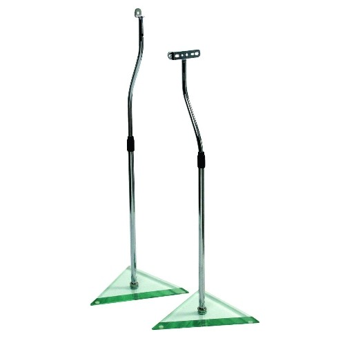 "B-Tech BT111 27-42"" Universal Adjustable Speaker Stands (Pair)"