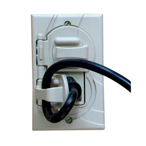 StayConnect IR300-GW Gfci Outlet Cover - White