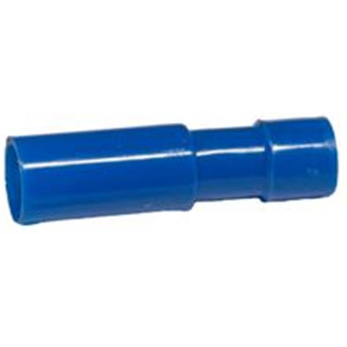 Morris Products 12094 Nylon Fully Insulated Double Crimp Receptacle Disconnects - 16-14 Wire.153 Receptacle Pack Of 100