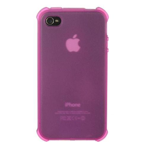 Dreamwireless Skin Case for iPhone 4S; iPhone 4 - Hot Pink