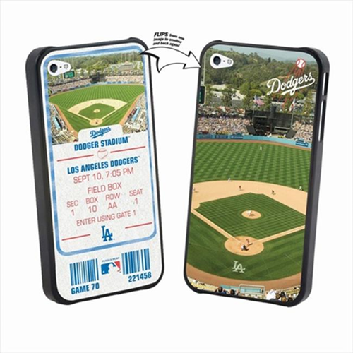 Pangea iPhone 4 & 4S MLB LA Dodgers Stadium Lenticular Case