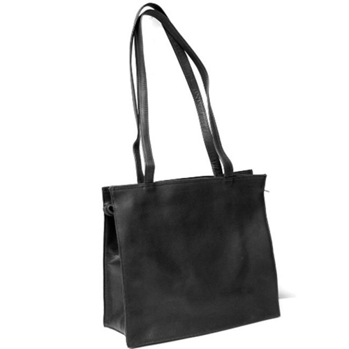 Royce Leather VLSTOTE-BLK VAQUETTA ALL PURPOSE TOTE Black