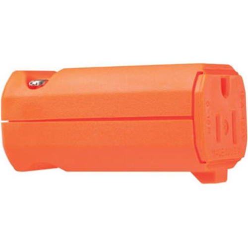Pass & Seymour PS5969OCC20 High Visibility Connector 15A Orange