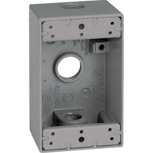Sigma 14250 1 Gang Weatherproof Outlet Box
