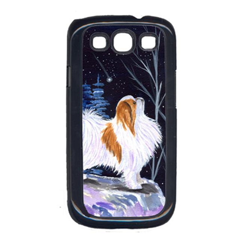 Carolines Treasures SS8363GALAXYSIII Starry Night Japanese Chin Galaxy S111 Cell Phone Cover