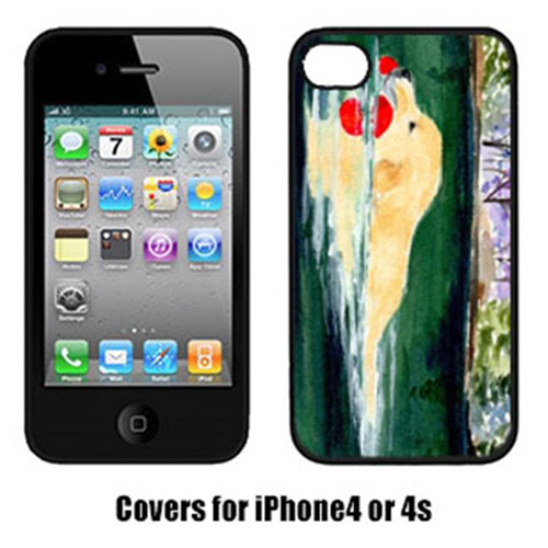 Carolines Treasures SS8935IP4 Golden Retriever Iphone 4 Cover
