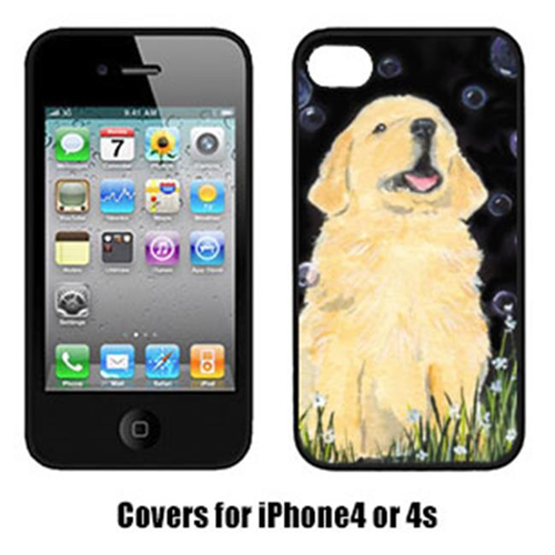Carolines Treasures SS8939IP4 Golden Retriever Iphone 4 Cover