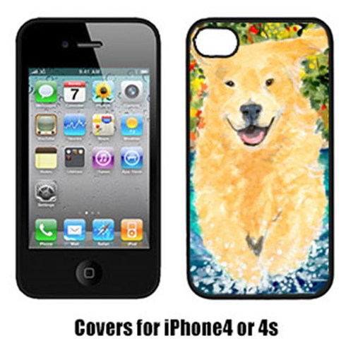 Carolines Treasures SS8978IP4 Golden Retriever Cell Phone Cover Iphone4