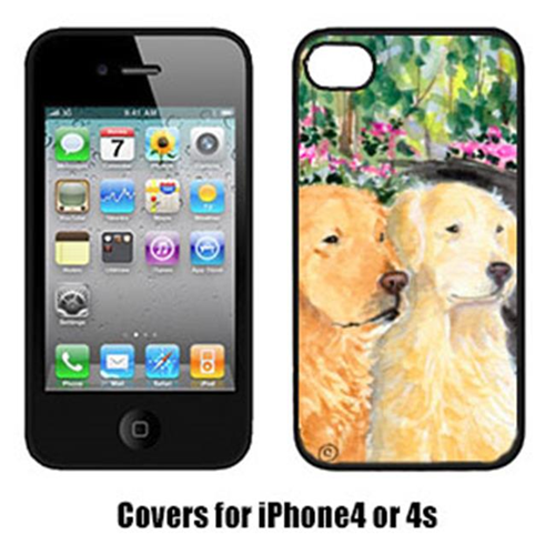 Carolines Treasures SS8974IP4 Golden Retriever Cell Phone Cover Iphone4