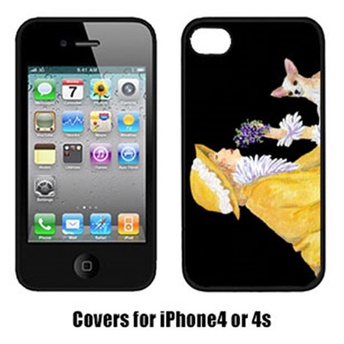 Carolines Treasures SS8632IP4 Chihuahua Cell Phone Cover Iphone4